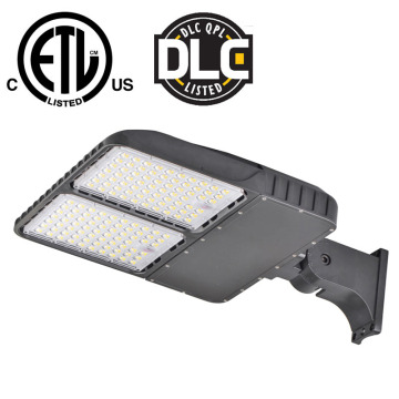 DLC 320W Led Parking Lot Shoebox Lights