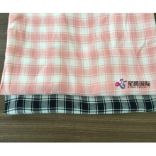 Plaid Tencel Blend Cotton Yarn Dyed Fabric