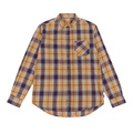 Custom Men's Long Sleeve Woven Shirts in autumn