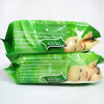 Non Alcohol Wet Wipes Wet Tissue For Babies