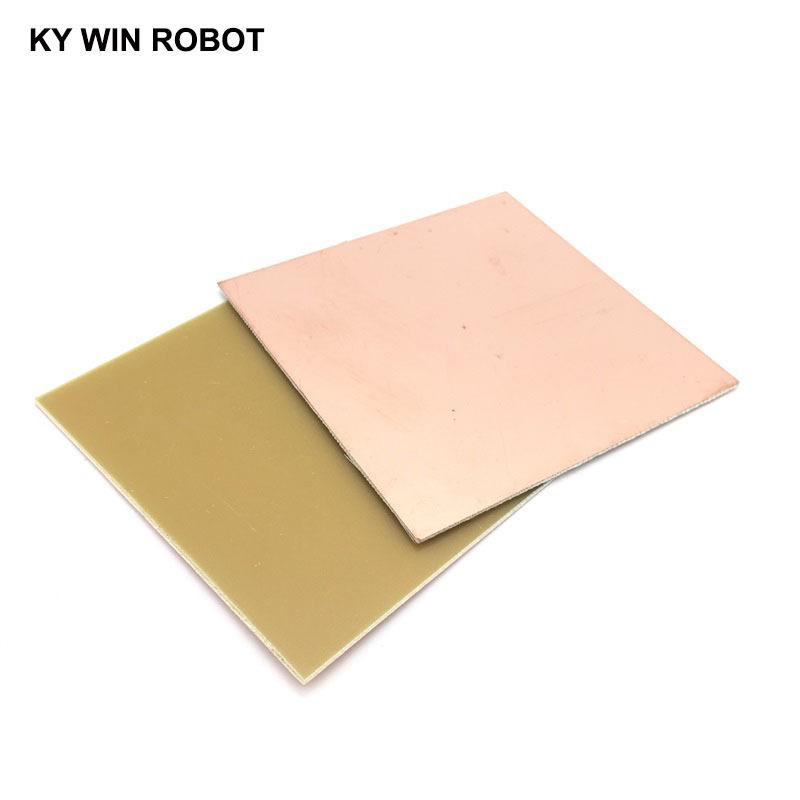 1 pcs FR4 PCB 10*10cm Single Side Copper Clad plate DIY PCB Kit Laminate Circuit Board 10x10cm 100x100x1.5mm