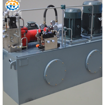 Easy to place hydraulic station