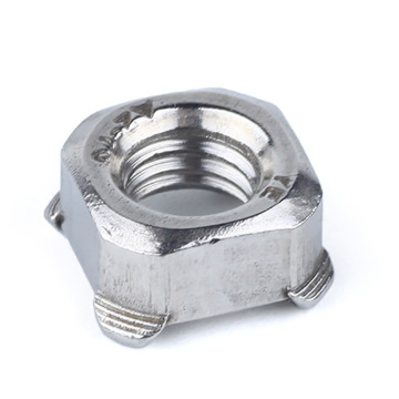 Stainless Steel Square Weld Nuts DIN928