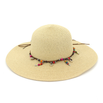Adorable decoration foldable bucket straw hat