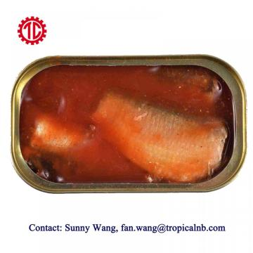 Canned Sardine Fish In Tomato Sauce Hot Spicy