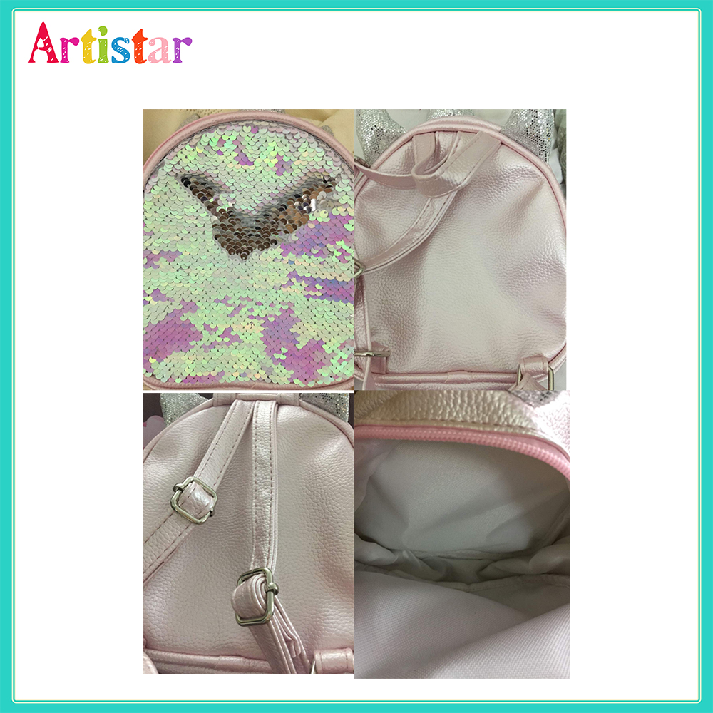 Unicorn Sequins Backpack 06 2