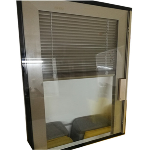 Double Glazing Glass with Blinds Inside for Window