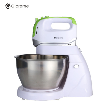 Tilt-Head Electric Mixer With Stainless Steel Bowl