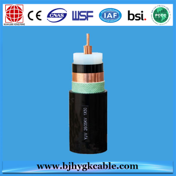 33KV 1*400sqmm Copper Conductor XLPE Insulated Power Cable