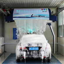 Laserwash 360 plus automatic car washing machine