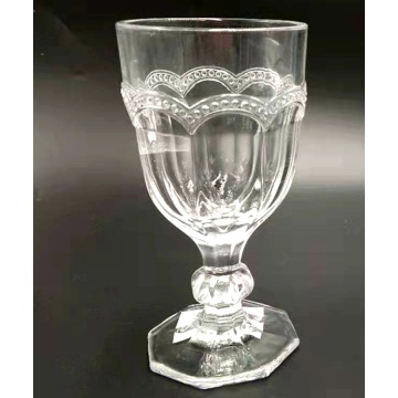 hand made crystal glass wine glass water cup