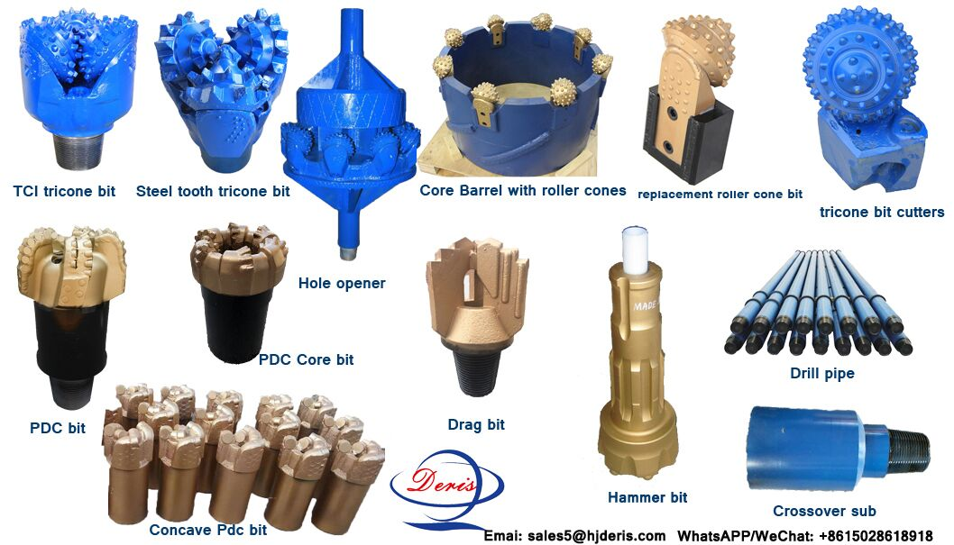 rock drill bits for well