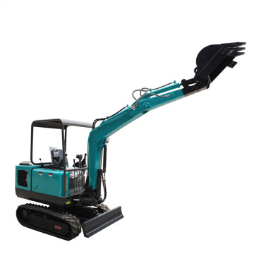 Household Small Digger China Made Micro Hydraulic Crawler Machine Price 1 Ton Epa Cheap Excavator Rubber Track