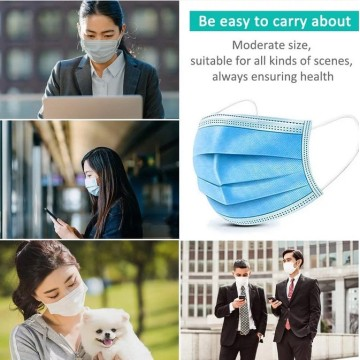 Disposable 3 Ply Surgical Medical Masks