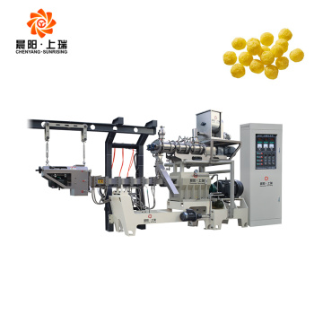 Puff food snack extruder machines
