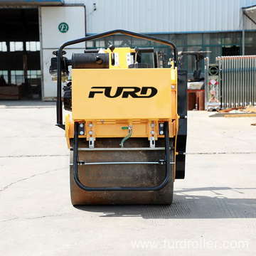 Small walking behind single drum compactor machine road roller FYL-D600