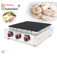 factory price gas poffertjes grill waffle maker
