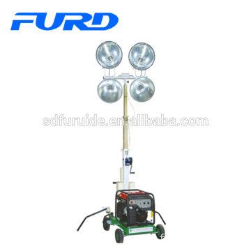 Easy Start Hand Pull Small Portable Light Tower For Night (FZM-400B)