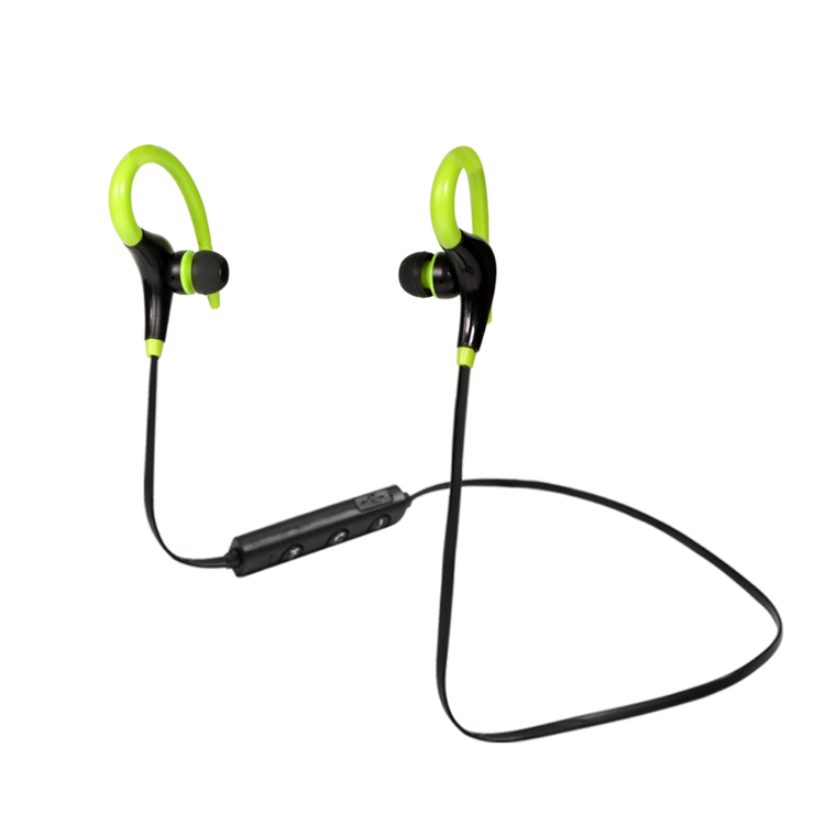 bluetooth sports workout in different colors earbud wireless headphone