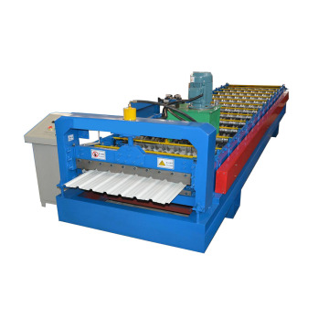 Color Steel Ibr Roofing Roll Forming Machine