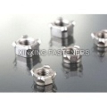 Zinc Plated Welded Nuts