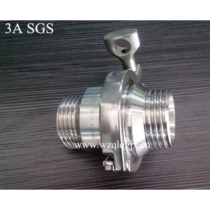 Sanitary Stainless Steel Check Valve Male Threaded