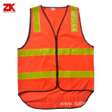 Roadway safety reflective vest