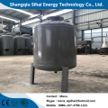 Waste motor oil extracting distillation plant