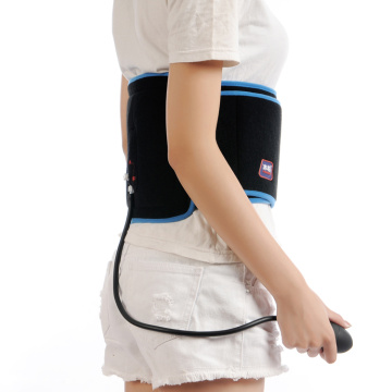 Cold air compression back wrap for back pain