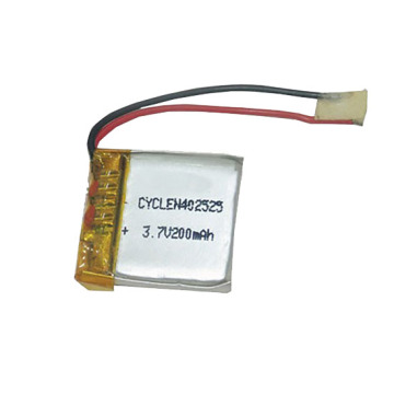 New Product 3.7V 200Mah Polymer Rechargeable Battery PACKER