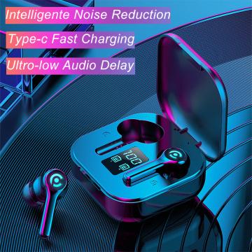 Hembeer ES1 Wireless Earphone Bluetooth Earphones Headsets Gaming Headphones with Microphonefor All Phone