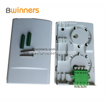 2 Port Multifunctional Optical Fiber Terminal Box Socket