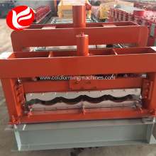Galvanized metal sheet glazed tile making forming machine