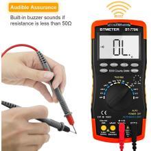 BTMETER BT-770N Multimeter Auto/Manual Range Digital Avometer Universal Meter 6000 Counts With Self-Locking Protection