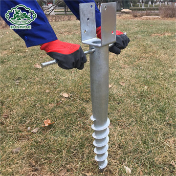 Welding Earth Ground Screw Anchor