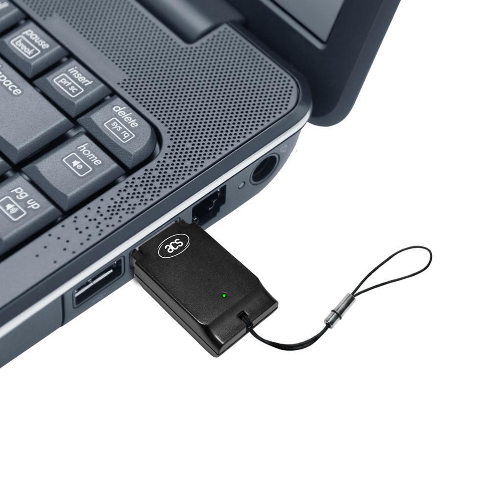 USB CCID ACR39T-A1 SIM-Size Smart Card Reader Writer Compatible ACR38T-D1 for SLE4442 SLE4428 AT24C16/64/02 ST14C02C, ST14C04C
