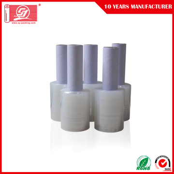 PE Handle Plastic Stretch Wrap Film
