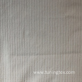 Vertical Stripe Knitted Crinkle Fabric