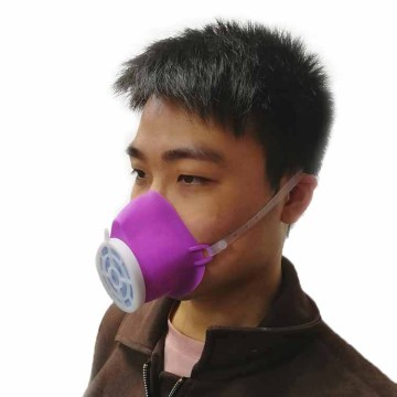 Anti Virus Mist Reusable KN95 Silicone Face Mask