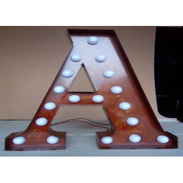Outdoor Custom Sizes Marquee Letter Sign Hire