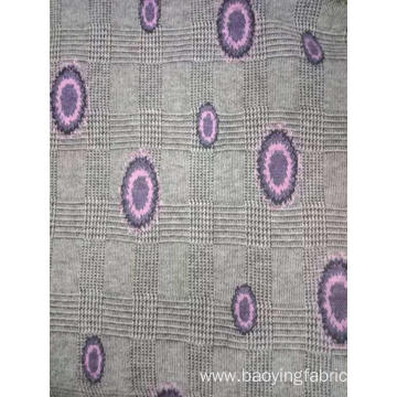 Yarn Dyed Jacquard Woolen Knitted Fabric