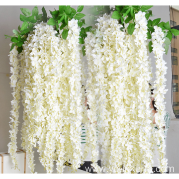 164cm Length Soft Material Artificial Wisteria Flowers