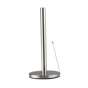 Stainless Steel Paper Towel Holder With Non-slip Base