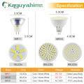 Kaguyahime LED MR16 MR11 Bulb 12V Spot Light 220V 6W Bulb Decoration Lamp LED Lampada Ampoule Warm White Cool White Spotlight