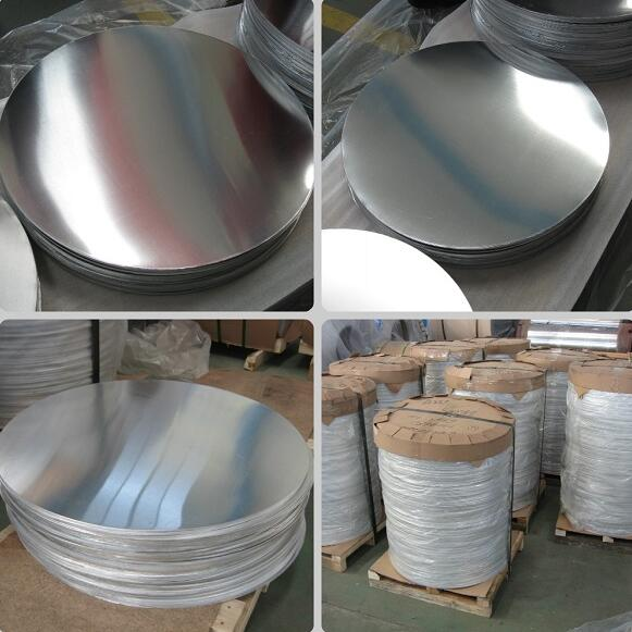Aluminum circle for cookware