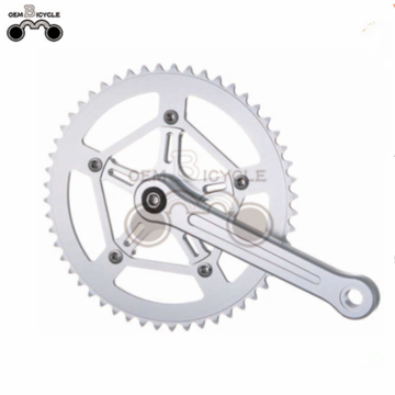 fixed/tracking bicycle parts aluminum crankset for sale