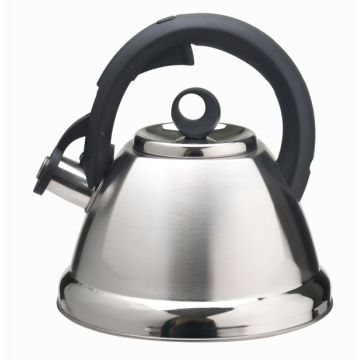 Modern kettle whistling stovetop induction