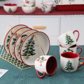 Christmas in the Kitchen Cheerful Ceramic Collection