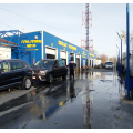 Leisuwash 360 automatic car wash installation
