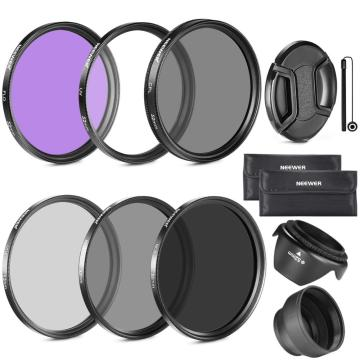 Neewer 52MM Must Have Lens Filter Accessory Kit For Canon,Nikon and Other Camera Lens